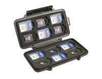 PELI Memory Card Behälter 0915, schwarz