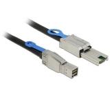 Delock SAS Kabel: SFF8644-SFF8088, 2m