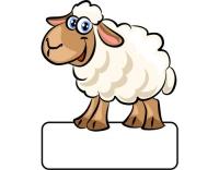 Geburtstafel Schaf