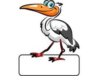 Geburtstafel Storch