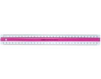Linex: Lineal 30cm pink