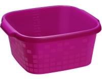 Rotho Becken eckig Geometric 12 Liter pink