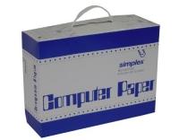 Simplex: Computer Papier A4 hoch 1000 Blatt