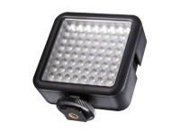 walimex pro LED Foto Video Leuchte 64 LED