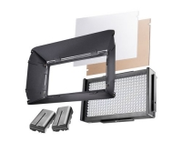 walimex pro LED Foto Video Square 312 Set