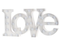 Vegas Lights Schriftzug Love
