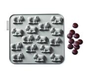SiliconeZone Schokoladenform Nashorn
