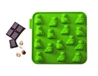 SiliconeZone Schokoladenform Panda