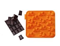 SiliconeZone Schokoladenform Tiger