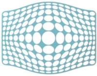 SiliconeZone Abtropfmatte klein blau