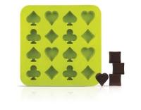 SiliconeZone Schokoladenform Poker