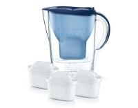 Brita Tischwasserfilter Marella blau + Kar
