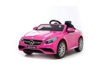 Mercedes S63 Pink in 2x6 Volt