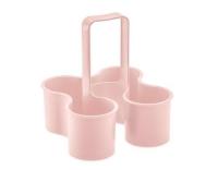 Koziol Flaschenträger Caddy pink