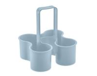 Koziol Flaschenträger Caddy blue