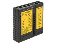 LAN-Tester für Netzwerk RJ12 & RJ45 mit POE