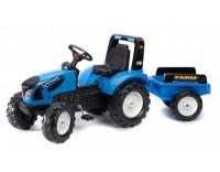 Tret-Traktor mit Anhänger Landini