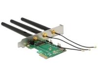 Delock PCI-E-X1 Adapter M.2 Key A+E