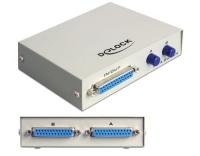 Delock DB25 Switchbox 2Port manuell