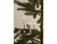 Sirius LED-Kerze Caroline 4er Set weiss