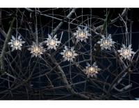 STT Lichterkette Schneeflocke, outdoor