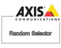 AXIS Video Analyse Random Select E-LIZ