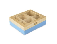 Ibili Teebeutel Box 6 Sorten blau