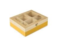 Ibili Teebeutel Box 6 Sorten gelb