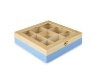 Ibili Teebeutel Box 9 Sorten blau