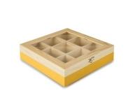 Ibili Teebeutel Box 9 Sorten gelb