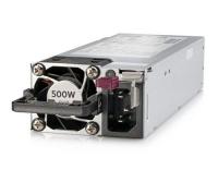 HPE Netzteil, hotpluggable, 500W Platinum