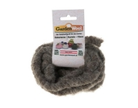 GardenWool Wollkordel grau