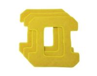 Hobot Microfaser-Pad gelb zu HB268/ 288