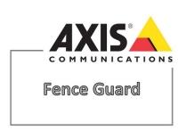 AXIS Fence Guard 1er Lizenz