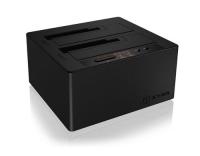 ICY BOX IB-121CL-C31, 2-Fach HDD Dock/Klon