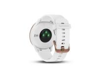Garmin Uhr/Tracker Vívomove HR Sport weiss