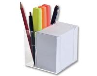 Folia Zettelbox mit Stiftehalter