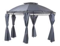 FURBER.cover Pavillon Ø 3.5 m dark grey