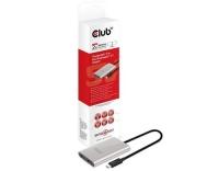 Club 3D, MST Hub USB TB3 auf 2x DP 1.2