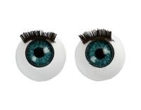 Creativ Company Augen mit Wimpern, 12 mm