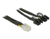 6Pin auf 2x 8Pin oder 2x 6Pin Stromadapter