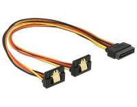 SATA zu 2x SATA Y-Stromadapter