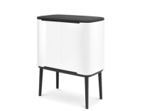 Brabantia Recyclingeimer Bo Touch Bin withe