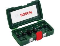BOSCH HM-Fräser-Set 6-teilig (8 mm Schaft)
