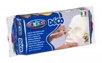 Carioca Modelliermasse Déco weiss 500g