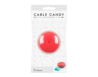 Cable Candy Donut Pink