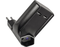 STEFFEN USB Zwischenstecker, 2xUSB 2.1A