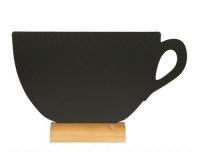 Securit Tischkreidetafel Silhouette Tasse