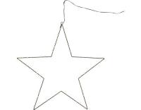Star Trading LED Stern Mira gross schwarz