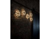 Konstsmide LED Lichtervorhang mit Sternen
